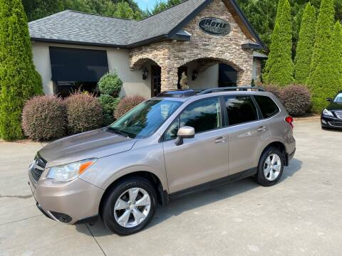 2015 Subaru Forester for sale at Hoyle Auto Sales in Taylorsville NC