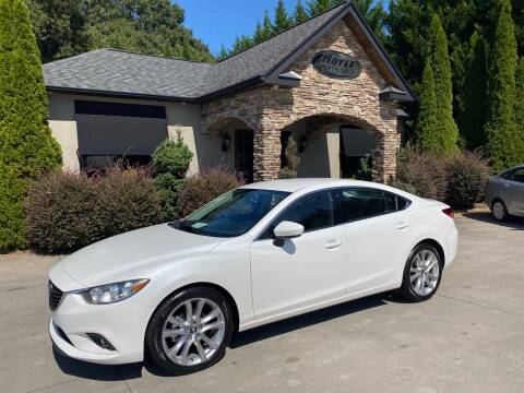 2014 Mazda MAZDA6 for sale at Hoyle Auto Sales in Taylorsville NC