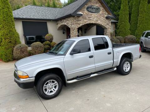 2002 Dodge Dakota for sale at Hoyle Auto Sales in Taylorsville NC