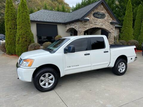 2009 Nissan Titan for sale at Hoyle Auto Sales in Taylorsville NC