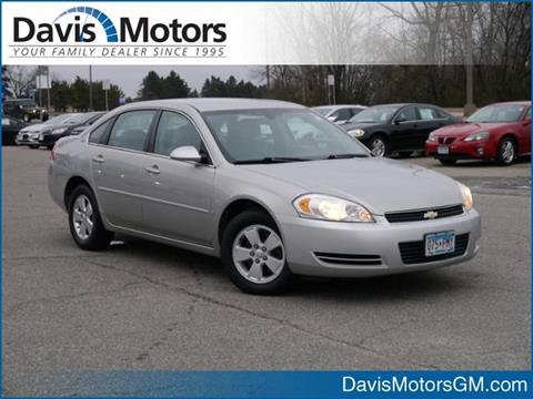 Cheap Cars Sale Litchfield Mn Carsforsale 2007 Chevrolet Impala