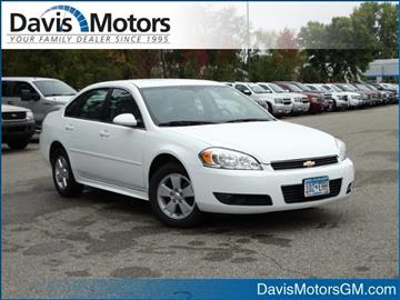 2011 Chevrolet Impala for sale in Litchfield, MN