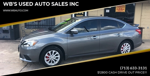 2018 Nissan Sentra for sale in Houston, TX