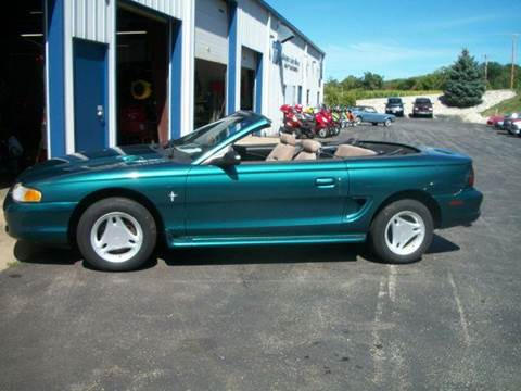 1996 Ford Mustang for sale at TIM'S ALIGNMENT & AUTO SVC in Fond Du Lac WI