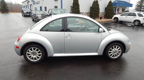 2004 Volkswagen New Beetle for sale at TIM'S ALIGNMENT & AUTO SVC in Fond Du Lac WI