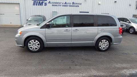 2014 Dodge Grand Caravan for sale at TIM'S ALIGNMENT & AUTO SVC in Fond Du Lac WI