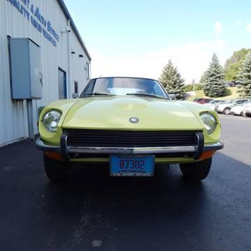 1972 Datsun 240Z for sale at TIM'S ALIGNMENT & AUTO SVC in Fond Du Lac WI
