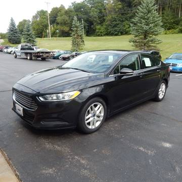 2015 Ford Fusion for sale at TIM'S ALIGNMENT & AUTO SVC in Fond Du Lac WI