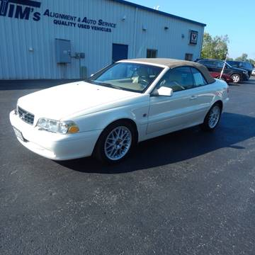 2004 Volvo C70 for sale at TIM'S ALIGNMENT & AUTO SVC in Fond Du Lac WI