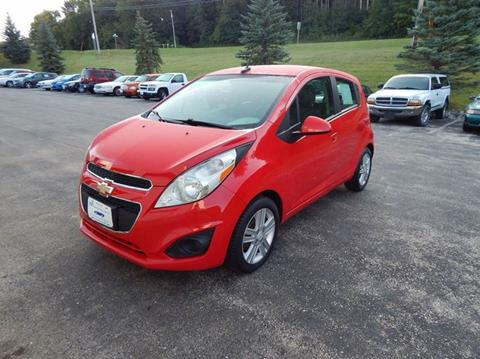 2013 Chevrolet Spark for sale at TIM'S ALIGNMENT & AUTO SVC in Fond Du Lac WI