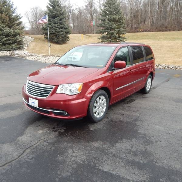 2015 Chrysler Town and Country for sale at TIM'S ALIGNMENT & AUTO SVC in Fond Du Lac WI