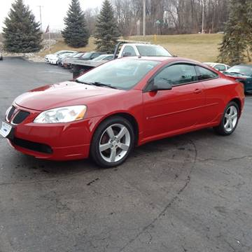 2006 Pontiac G6 for sale at TIM'S ALIGNMENT & AUTO SVC in Fond Du Lac WI