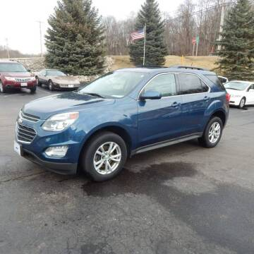 2016 Chevrolet Equinox for sale at TIM'S ALIGNMENT & AUTO SVC in Fond Du Lac WI