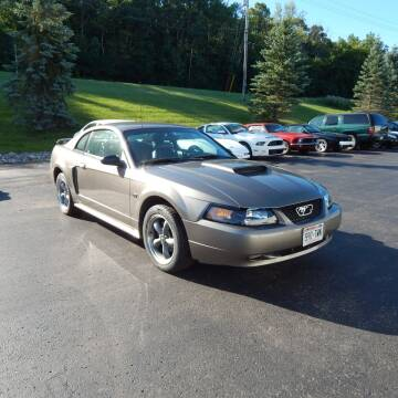 2002 Ford Mustang for sale at TIM'S ALIGNMENT & AUTO SVC in Fond Du Lac WI