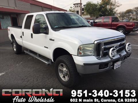 Used Diesel Trucks >> Used Diesel Trucks For Sale In Corona Ca Carsforsale Com