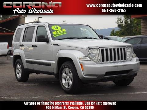 2010 Jeep Liberty for sale in Corona, CA
