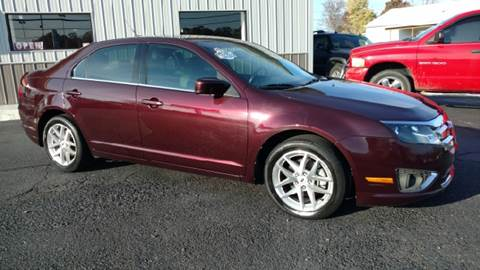2011 Ford Fusion for sale at Moores Auto Sales in Greeneville TN