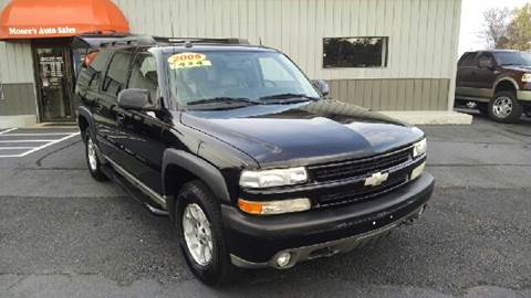 2005 Chevrolet Suburban for sale at Moores Auto Sales in Greeneville TN