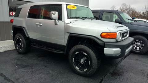 2007 Toyota FJ Cruiser for sale at Moores Auto Sales in Greeneville TN