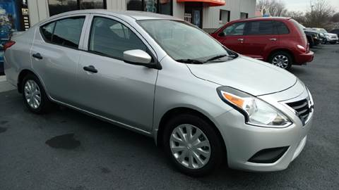 2017 Nissan Versa for sale at Moores Auto Sales in Greeneville TN