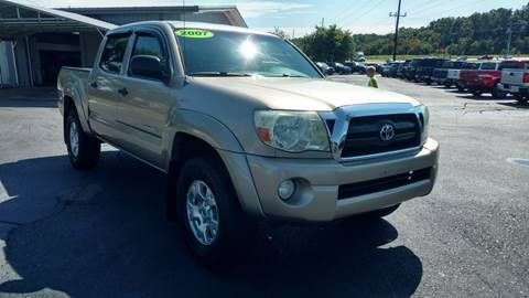 2007 Toyota Tacoma for sale at Moores Auto Sales in Greeneville TN