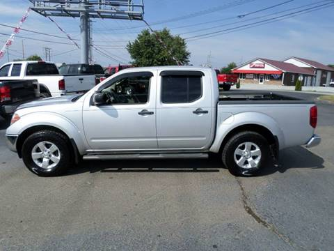 2010 Nissan Frontier for sale at Moores Auto Sales in Greeneville TN