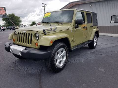 2013 Jeep Wrangler Unlimited for sale at Moores Auto Sales in Greeneville TN