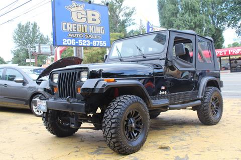 1990 Jeep Wrangler for sale in Seattle, WA