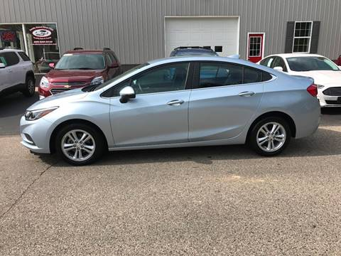 2017 Chevrolet Cruze for sale in Shepherd, MI
