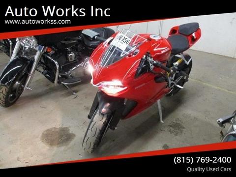 2014 Ducati SUPERBIKE for sale in Rockford, IL