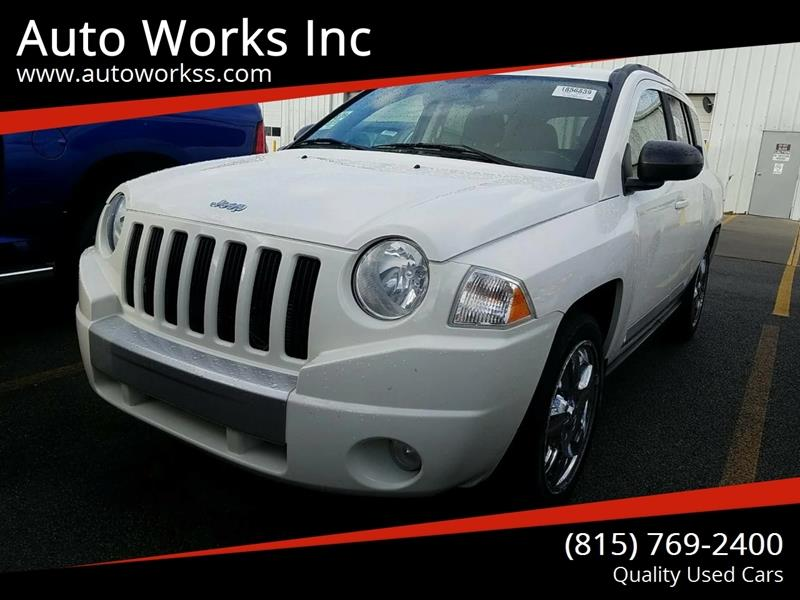 2010 jeep compass limited in rockford, il - auto works inc