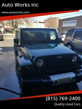 2011 Jeep Wrangler Unlimited for sale in Rockford, IL