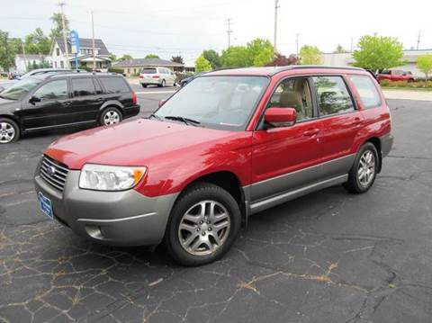 2006 Subaru Forester for sale at MAIN STREET AUTO SALES in Neenah WI