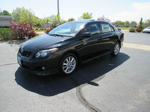 2009 Toyota Corolla for sale at MAIN STREET AUTO SALES in Neenah WI