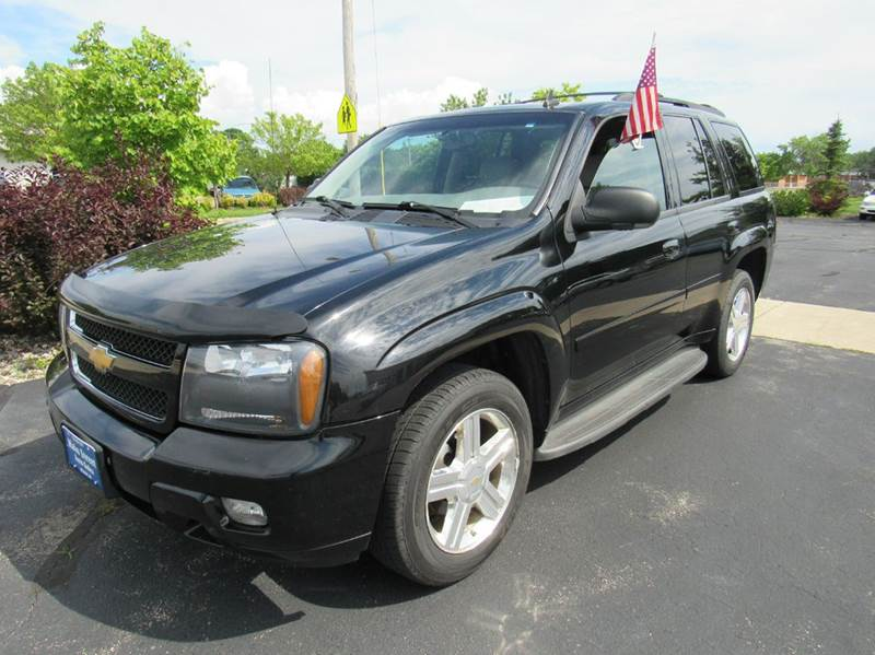 2008 Chevrolet TrailBlazer for sale at MAIN STREET AUTO SALES in Neenah WI