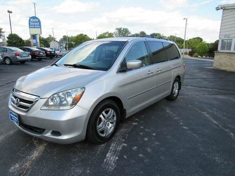 2006 Honda Odyssey for sale at MAIN STREET AUTO SALES in Neenah WI