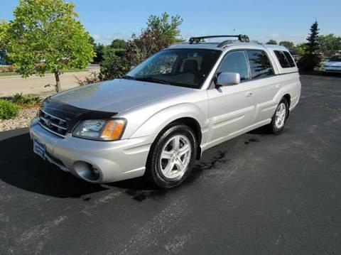 2003 Subaru Baja for sale at MAIN STREET AUTO SALES in Neenah WI
