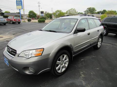 2006 Subaru Outback for sale at MAIN STREET AUTO SALES in Neenah WI