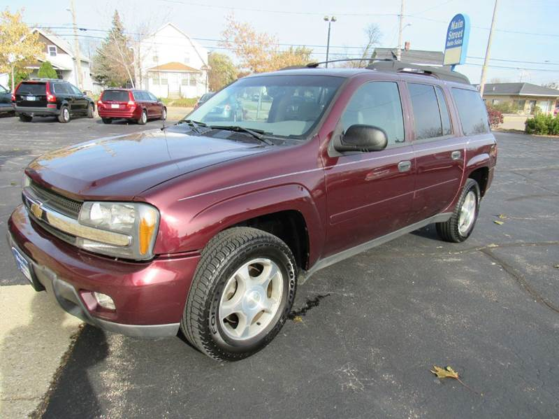 2006 Chevrolet TrailBlazer EXT for sale at MAIN STREET AUTO SALES in Neenah WI