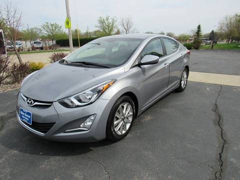 2014 Hyundai Elantra for sale at MAIN STREET AUTO SALES in Neenah WI