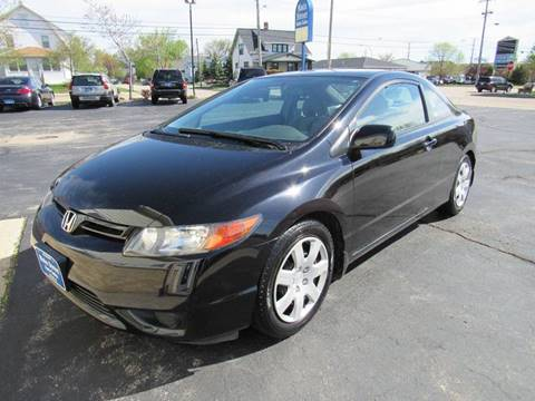 2007 Honda Civic for sale at MAIN STREET AUTO SALES in Neenah WI