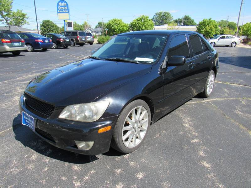2005 Lexus IS 300 for sale at MAIN STREET AUTO SALES in Neenah WI