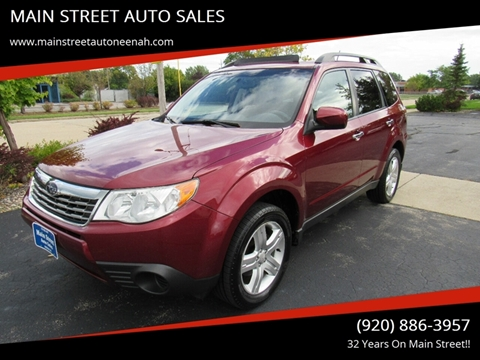 2009 Subaru Forester for sale in Neenah, WI