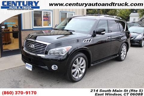 2012 Infiniti QX56 for sale in East Windsor, CT