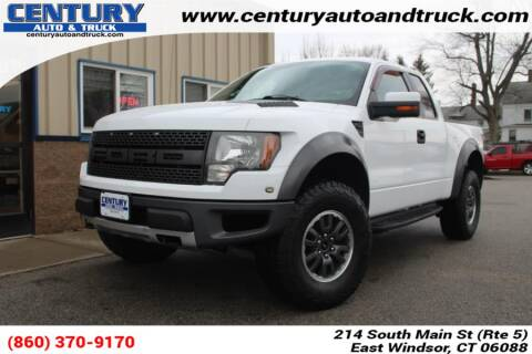2010 Ford F-150 SVT Raptor for sale at Century Auto and Truck Center in East Windsor CT