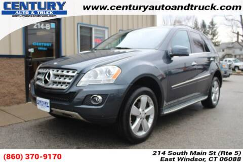 2011 Mercedes-Benz M-Class ML 350 4MATIC for sale at Century Auto and Truck Center in East Windsor CT