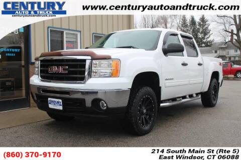 2010 GMC Sierra 1500 SLE for sale at Century Auto and Truck Center in East Windsor CT