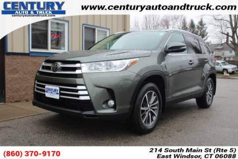 2019 Toyota Highlander for sale at Century Auto and Truck Center in East Windsor CT