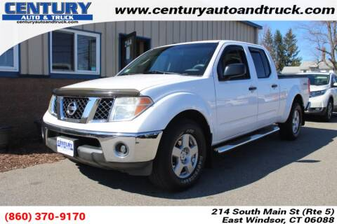 2007 Nissan Frontier for sale at Century Auto and Truck Center in East Windsor CT