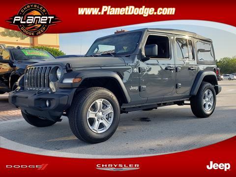 2019 Jeep Wrangler Unlimited for sale in Miami, FL